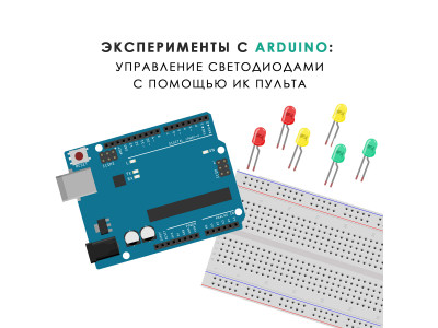 Управление светодиодами с помощью ИК пульта