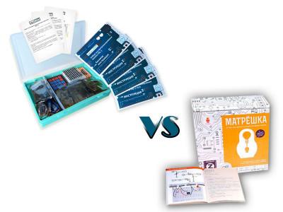 Набор с платой Arduino-совместимой и инструкцией большой (15 проектов) VS Матрешка Z