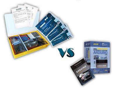 Набор с платой Arduino-совместимой и инструкцией средний (10 проектов) VS Набор для экспериментов Умный дом с контроллером Arduino