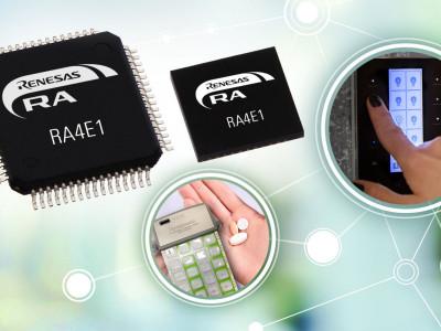 Renesas запускает новое 32-разрядное семейство микроконтроллеров RA