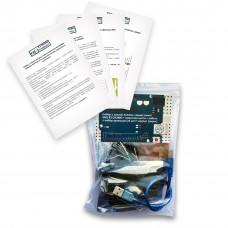 Набор с платой Arduino-совместимой Uno R3 CH340G, макетной платой, корпусом и проводами