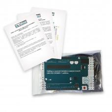 Набор с платой Arduino-совместимой Uno R3 CH340G + кабель USB Type A/B