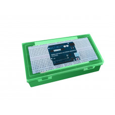Набор датчиков для Arduino-проектов (12 штук) зелёный кейс
