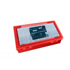 Набор датчиков для Arduino-проектов (12 штук) красный кейс