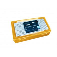 Набор датчиков для Arduino-проектов (15 штук) жёлтый кейс