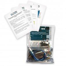 Набор с платой Arduino-совместимой Mega 2560 R3 CH340G, макетной платой, корпусом и проводами
