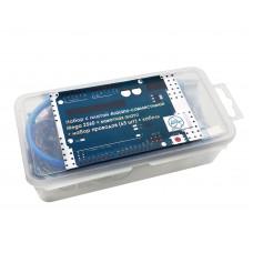 Набор с платой Arduino-совместимой Mega 2560 R3, макетной платой и проводами