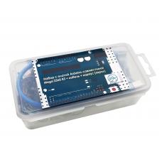 Набор с платой Arduino-совместимой Mega 2560 R3 + кабель USB Type A/B + корпус (акрил)
